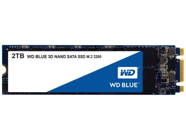 【送料無料】 WESTERN DIGITAL WD Blue SSD SATA6Gb/s 2TB M.2 2280 3DNAND(WDS200T2B0B)【smtb-s】