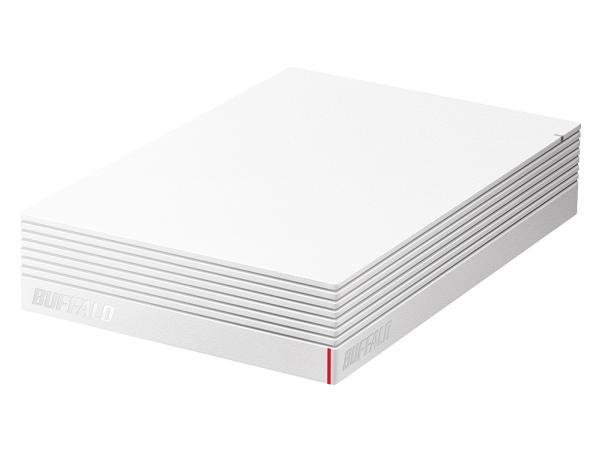 バッファロー USB3.1(Gen.1)対応 みまもり合図 for AV対応 外付けHDD 2TB ホワイト(HD-LDS2.0U3-WA)【smtb-s】