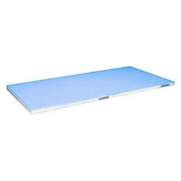 ハセガワ 抗菌ポリエチレン 全面カラーまな板 「かるがる」 SLK18-5030WB ブルー【smtb-s】