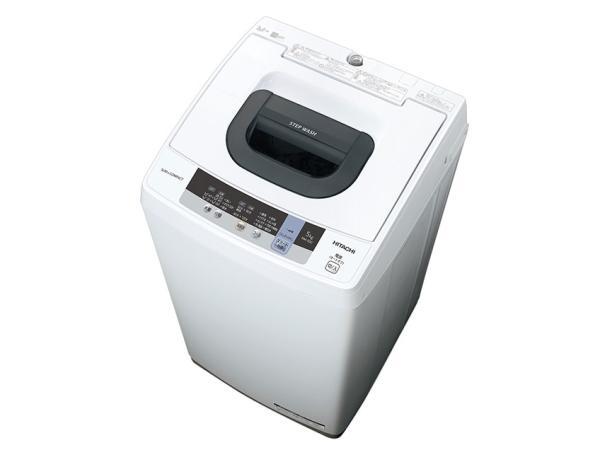日立(HITACHI) 日立 NW-50C 全自動洗濯機 (洗濯5.0kg) ピュアホワイト(NW-50C)【smtb-s】
