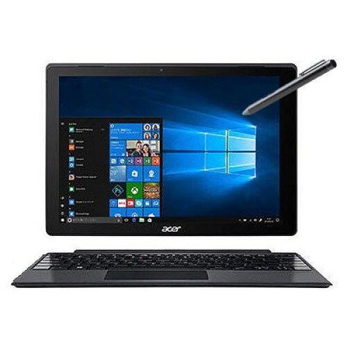 Core i3-7130U/4GB/128GB SSD/12.0/2in1/Windows 10 Pro 64bit/指紋認証/マルチタッチ/ペン付/KB付/ドライブなし/他(SW512-52P-A34QB6)【smtb-s】