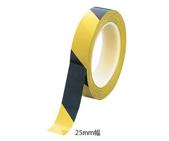 アズワン(As One) アズピュアラインテープ 黄/黒 25mm×33m 10巻入NC1-4762-711-4762-77【smtb-s】