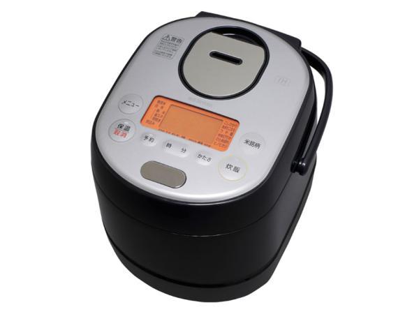 アイリスオーヤマ 炊飯器 IH式 3合 分離式 銘柄炊き分け機能付き RC-SA30-B【smtb-s】