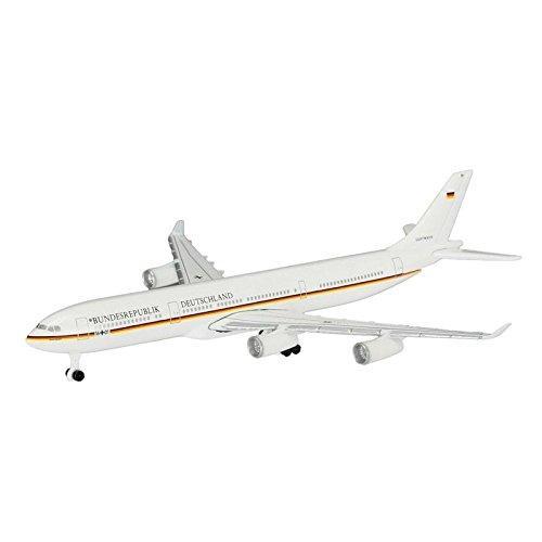 直営ストア 送料無料 シュコー Schuco Aviation A340-300 大幅値下げランキング ドイツ政府専用機 1 BRD 600スケール 403551666 1073311 K.Adenauer