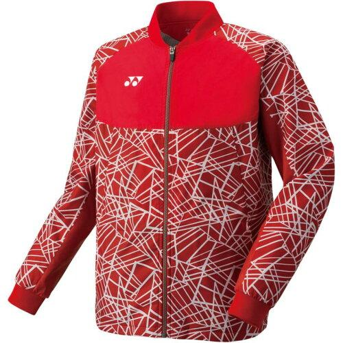 ヨネックス メンズウィンドウォーマーシャツ 品番:70060 カラー:サンセットレッド(496) サイズ:S【smtb-s】