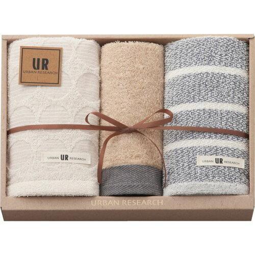 Gift Box アーバンリサーチ フェイス2P・ウォッシュタオル1PUR2125 BL【入数:40】【smtb-s】