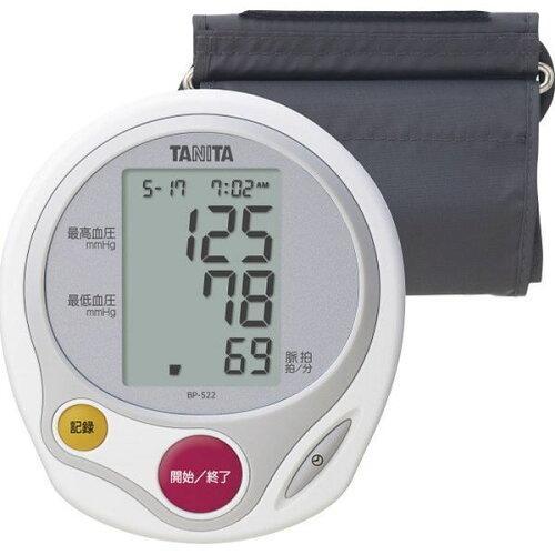 タニタ 上腕式血圧計BP-522-WH【入数:12】【smtb-s】