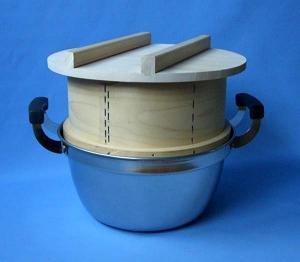 大竹産業 グルメ和せいろ鍋付セット 2キロ(1.3升) 2068 (3992bg)【smtb-s】