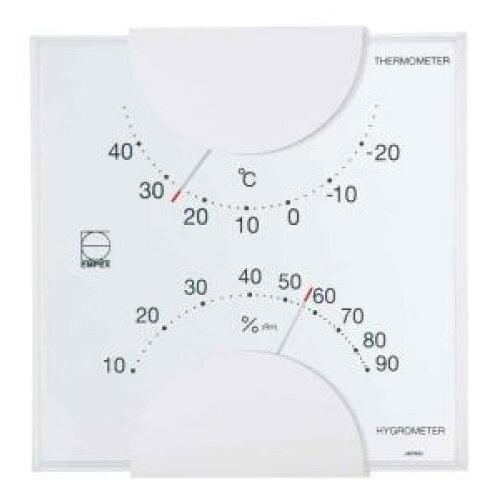 エンペックス気象計 エンペックス エルム温・湿度計LV-4901【入数:36】【smtb-s】