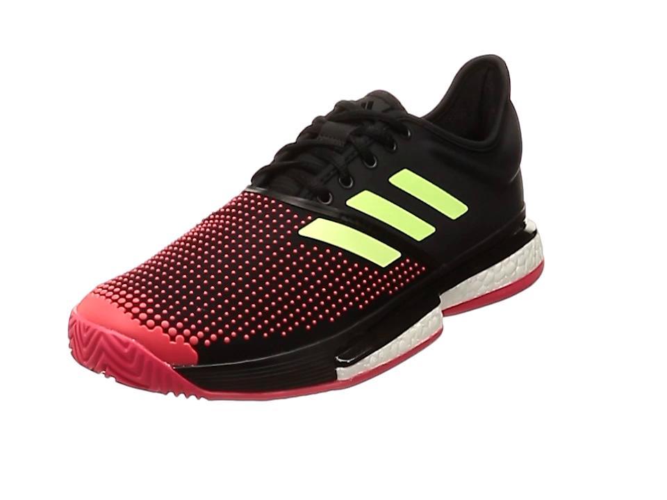 adidas 91_SOLECOURTBOOSTMMC (AH2131) [色 : コアBLK/ハイレゾY] [サイズ : 250]【smtb-s】