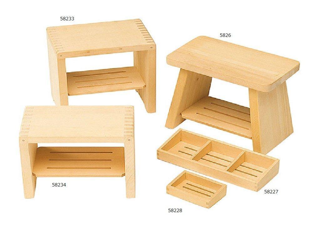 ヤマコー 58226ヒバ・新型風呂椅子 ファインポリマー仕上16-464-11【smtb-s】