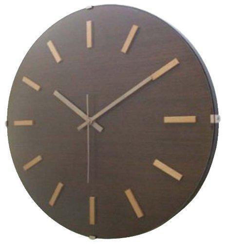 フォーカス・スリー ドームバークロック 電波時計 ブラウン V-065 (1170532)【smtb-s】