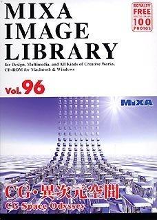 大日本スクリーン製造 MIXA IMAGE LIBRARY Vol.96 CG·異次元空間 [Windows/Mac] (XAMIL3096)