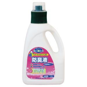ポータブルトイレ用防臭液 大容量無色タイプ 1.8L 6本 533-209【入数:6】【smtb-s】