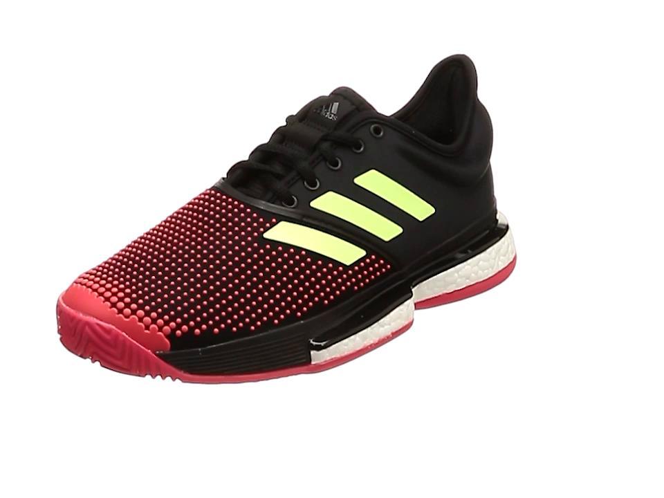 adidas 91_SOLECOURTBOOSTWMC (G26297) [色 : コアBLK/ハイレゾY] [サイズ : 235]【smtb-s】