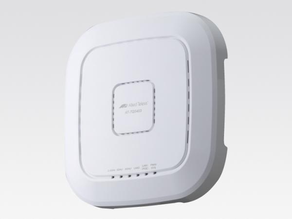 アライドテレシス AT-TQ5403 [IEEE802.11a/b/g/n/ac対応 無線LANアクセスポイント、10/100/1000BASE-Tx1、10/100/1000BASE-T(PoE-IN)x1](3806R)【smtb-s】
