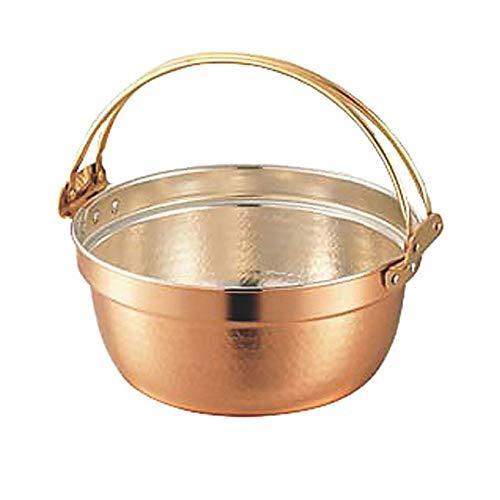 SW銅料理鍋(錫無・つる付)48cm【smtb-s】