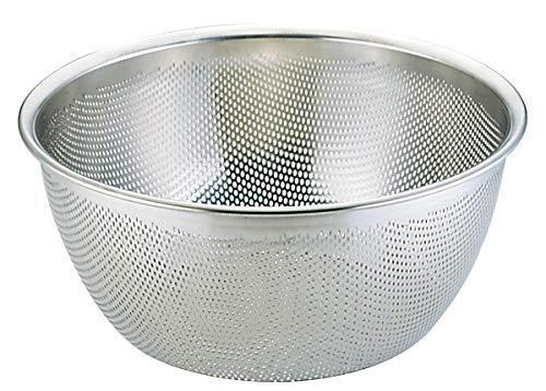 三宝産業 UK18-8HACCP対応パンチング深型ざる35cm【smtb-s】