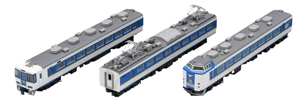 トミーテック(TOMYTEC) 98652 【Nゲージ】98652 JR 485系特急電車(しらさぎ・新塗装)セットC(3両)【smtb-s】