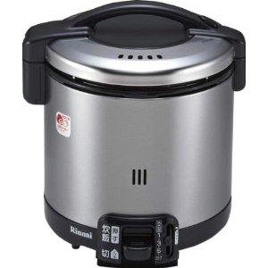 リンナイ ガス炊飯器【こがまる】 1~5.5合 ブラック RR-055GS-D 13A(都市ガス用)【smtb-s】