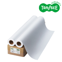 送料無料 新品未使用正規品 TANOSEE インクジェット用普通紙 買い取り FSC認証紙 IJRJEF841A 841mm×50m 2本 箱