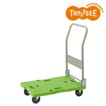 オリジナル TANOSEE 樹脂運搬車(キャスター標準) W450×D705×H860mm 120kg荷重(TGK-JUD120)【smtb-s】