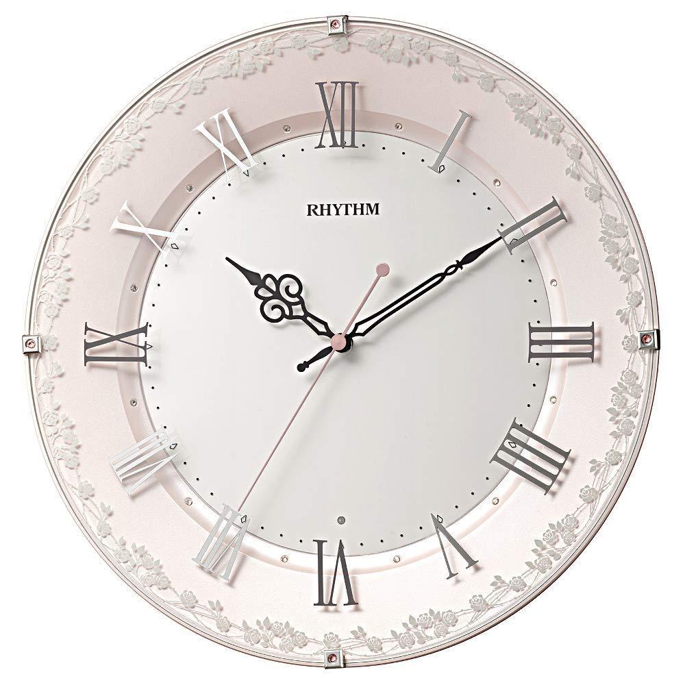 リズム時計工業(Rhythm) 8MY538SR13 RHYTHM 電波掛け時計 「アラカルト538」 8MY538SR13【smtb-s】
