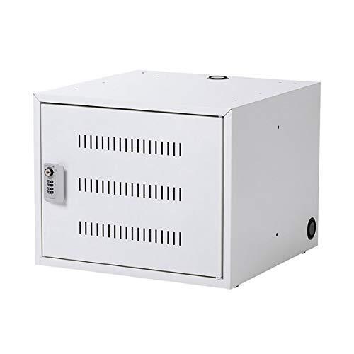 サンワサプライ ノートパソコン収納キャビネット(5台収納)(CAI-CAB106W)【smtb-s】