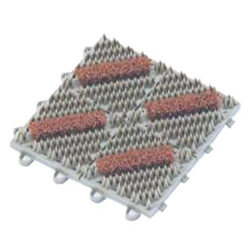 テラモト カラーブラッシュ 赤 150×150mm(MR0960722)【入数:80】【smtb-s】