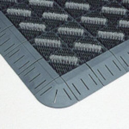 テラモト カラーブラッシュ 灰 150×150mm(MR0960725)【入数:80】【smtb-s】