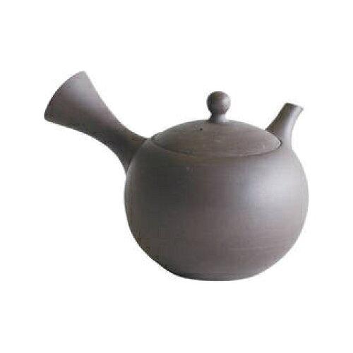 マルヨシ陶器 常滑焼 満月急須1.5号 黒M0955【入数:16】【smtb-s】