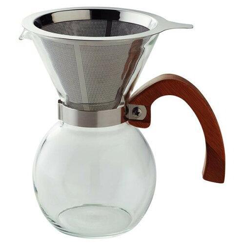 前畑 ブリューコーヒー耐熱400┣ml┫ドリッパーセット51640【入数:24】【smtb-s】