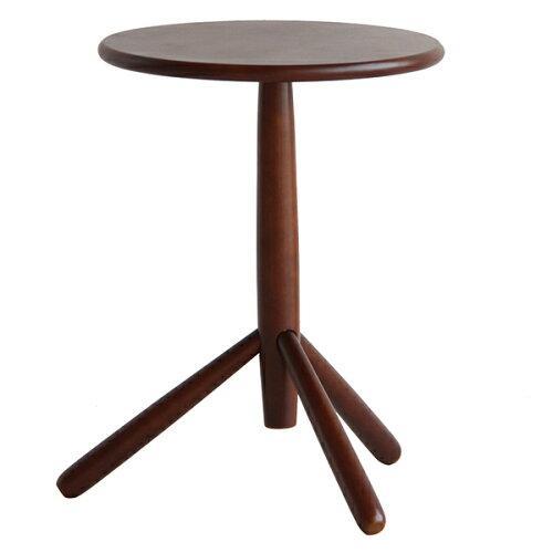 市場(Marche) サイドテーブル(キノコ)ブラウンILT-2988BR【入数:3】【smtb-s】