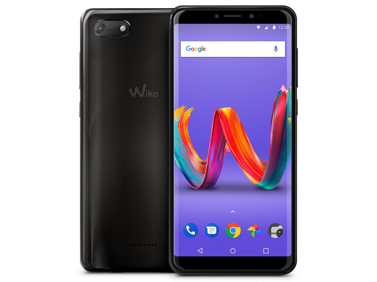 WIKO Tommy3 Plus(Anthracite Mirror)(W-V600(ANTHRACITE MIRROR))【smtb-s】