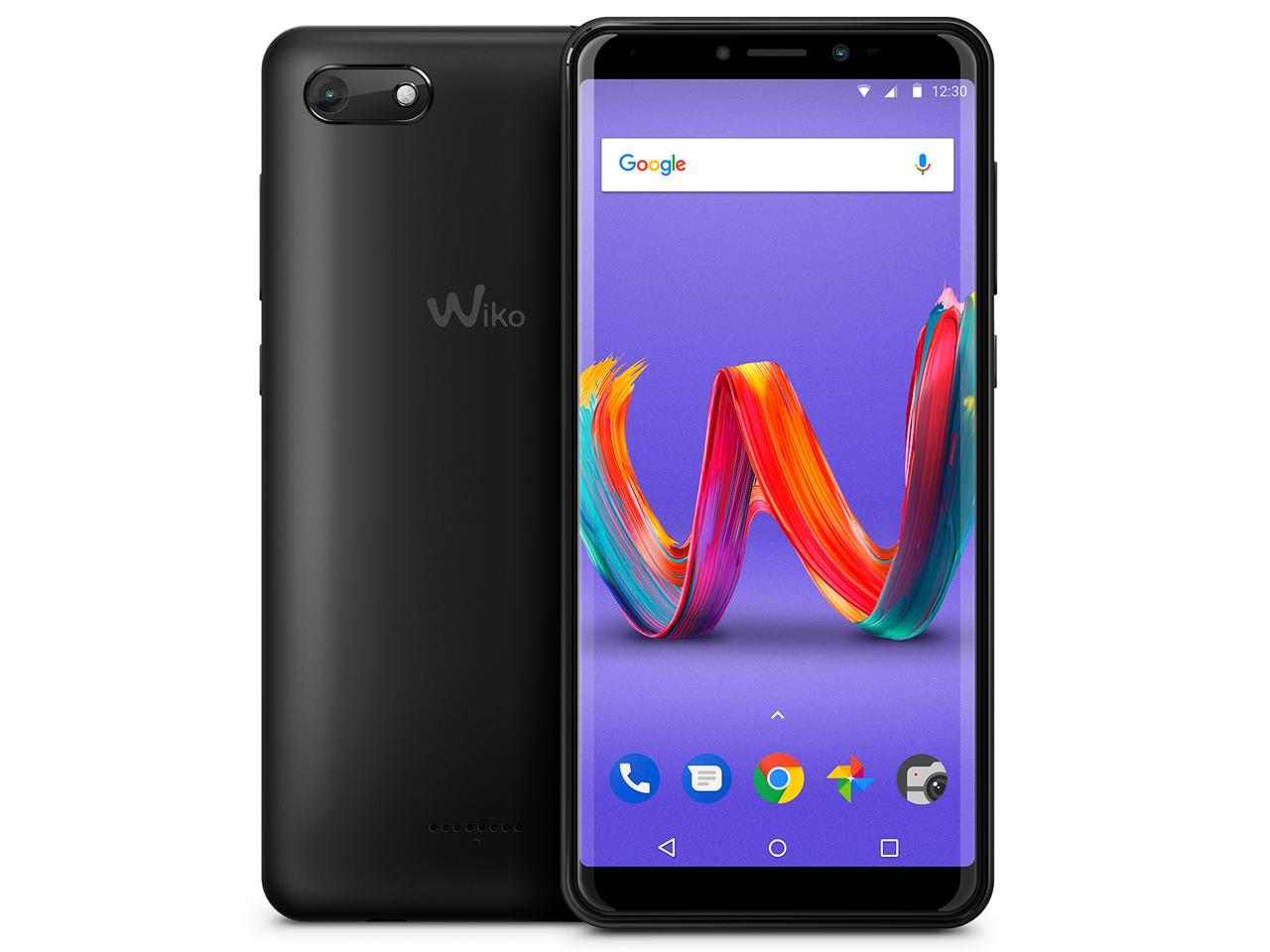 WIKO Tommy3 Plus(Anthracite Matte)(W-V600(ANTHRACITE MATTE))【smtb-s】