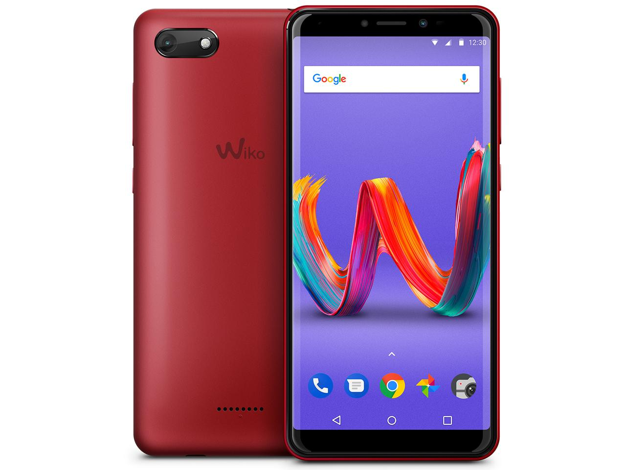 WIKO Tommy3 Plus(Cherry Red)(W-V600(CHERRY RED))【smtb-s】