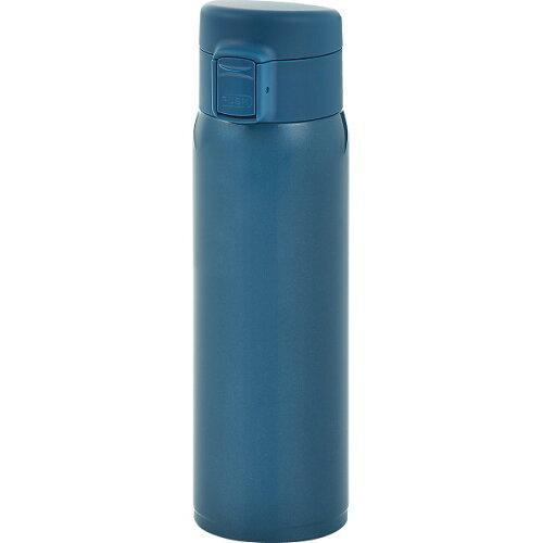 ソワレ ワンタッチステンレスボトル(480┣ml┫)ブルーSO-21B【入数:24】【smtb-s】