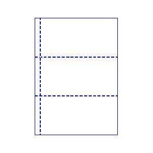 トヨシコー ブッキング用 A4 3分割 #60ノーカーボン レーザープリンター用紙 1000枚入り (サイズ:A4 数量:1ケース 1.000枚入り)【smtb-s】