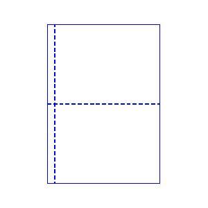 トヨシコー ブッキング用 A4 2分割 #60ノーカーボン レーザープリンター用紙 1000枚入り (サイズ:A4 数量:1ケース 1.000枚入り)【smtb-s】