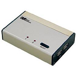 RATOC USB接続DVI/Auido対応パソコン自動切換器 ( KVMスイッチ ) ( REX-230UDA )【smtb-s】