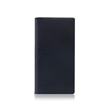 SD8093I7 iPhone 7用 手帳型レザーケース Carbon Leather Case ブラック SLG Design SD8093i7【smtb-s】