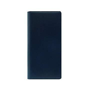 SLG Design SD10510I8 iPhone X用 手帳型レザーケース Buttero Leather Case ブルー SD10510I8【smtb-s】