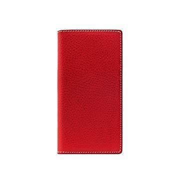 SLG Design SD10514I8 iPhone X用 手帳型レザーケース Minerva Box Leather Case レッド SD10514I8【smtb-s】