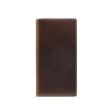 SLG Design SD10515I8 iPhone X用 手帳型レザーケース Minerva Box Leather Case ブラウン SD10515I8【smtb-s】