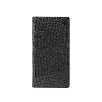 SLG Design SD10529I8 iPhone X用 手帳型 Lizard Case ブラック SD10529I8【smtb-s】