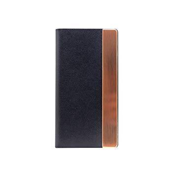SLG Design SD10546I8 iPhone X用 手帳型 Calf Skin Metal Case ネイビー SD10546I8【smtb-s】