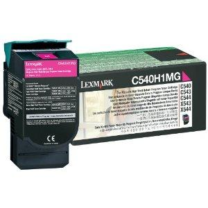LEXMARK レックスマークレーザープリンタ リターンプログラムトナーカートリッジ・マゼンタ(大容量/2000枚) C540H1MG【smtb-s】