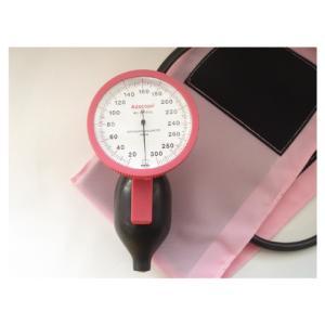 ユーメド貿易 ラージゲージアネロイド血圧計 ADC-226P(ピンク)ワンハンド【smtb-s】
