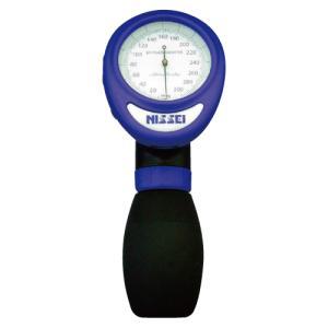 日本精密測器 ワンハンド式アネロイド血圧計 HT-1500(ブルー)【smtb-s】