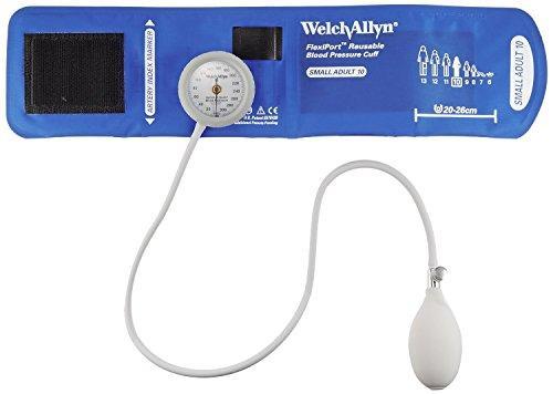 ウェルチ・アレン アネロイド血圧計[デュラショック・ゲージ一体型スタンダード] 成人用(小)DS44-10DS44-100-1450-32【smtb-s】